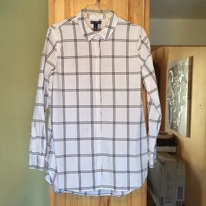 GAP women's button down shirt